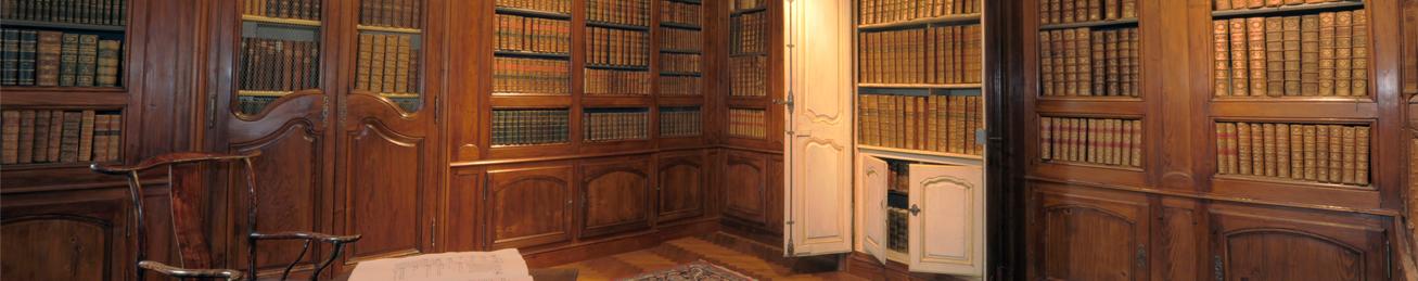 Boiseries anciennes → Bibliothèques anciennes