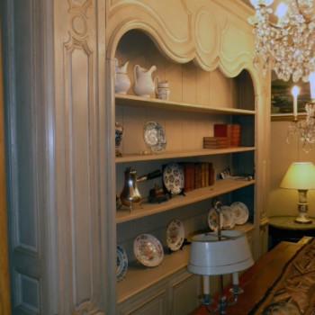 meuble biblioth que sur mesure patrick delan. Black Bedroom Furniture Sets. Home Design Ideas