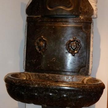 Fontaine d'intérieur en marbre