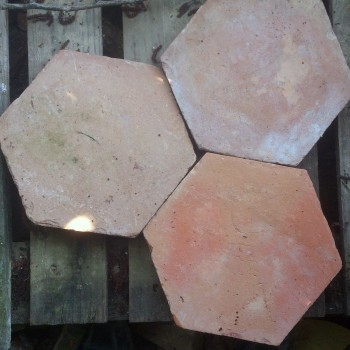 Terre cuite hexagone