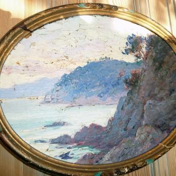 Paire de peintures