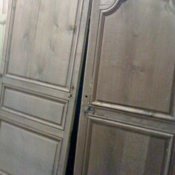 Restauration porte ancienne bois vitr e placard for Acheter porte interieur