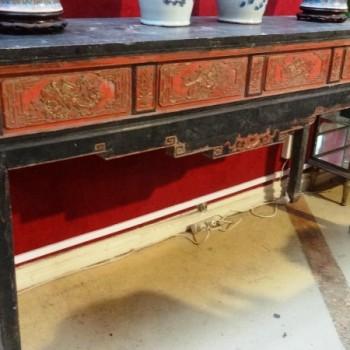 Console chinoise 19ème siècle