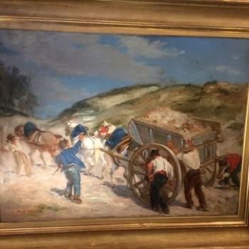 Peinture Alfred Dehondecq