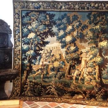 Très belle tapisserie 18ème Aubusson
