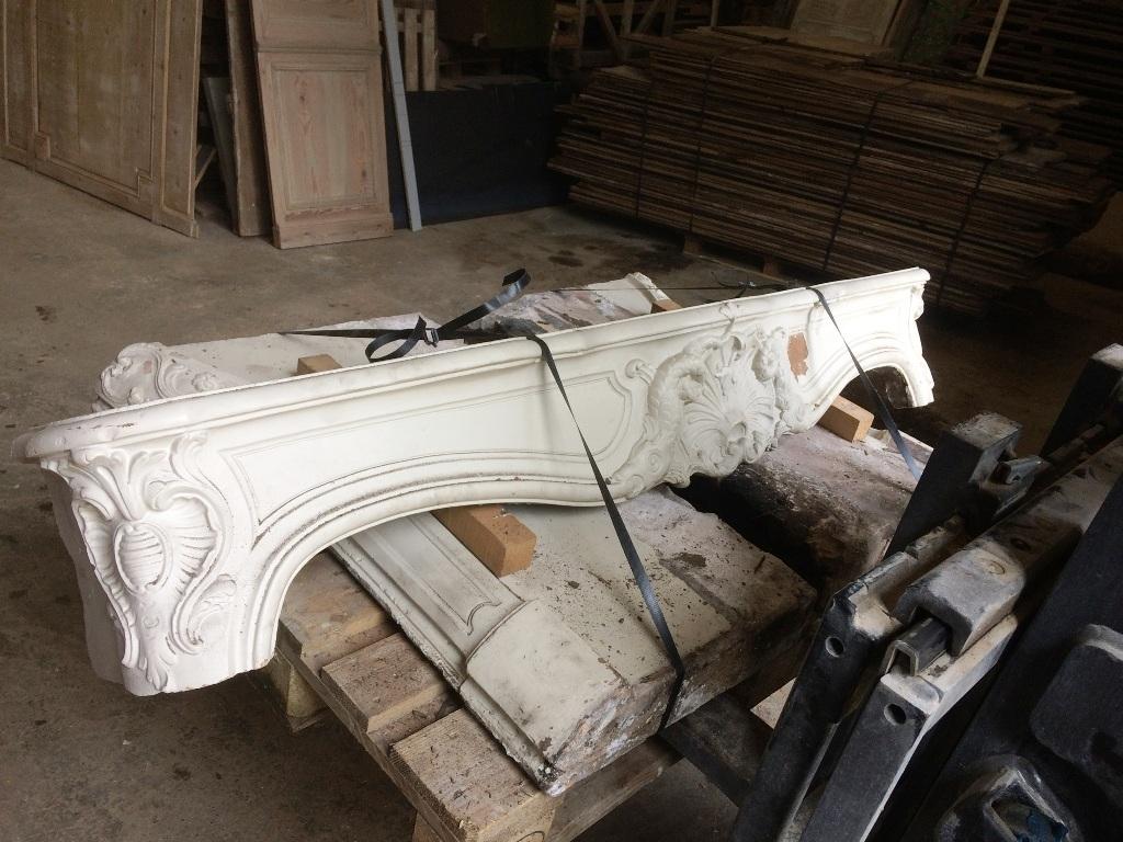 Renovation De Cheminee Ancienne rénovation & habillage cheminée ancienne en pierre, marbre